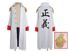 One Piece Akainu Admiral's Jacket Costume Cosplay Anime Manga NEW