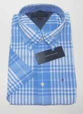 TOMMY HILFIGER Men's Plaid SS Button Up Shirt - Sizes M-L-XL-XXL