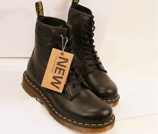 Dr.Womens Locomotive boots martens style Genuine Leather shoes, work boots