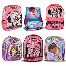 Official Disney & Children TV Character School Bag Rucksack Backpack New Gift
