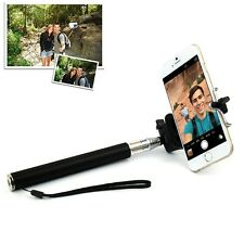 Extendable Selfie Handheld Telescopic Monopod Stick + Holder For iPhone Android
