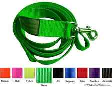 Unique Wide Handled Dog Lead Leashes, Sport Edition, 4 Versatile Styles 9 Colors