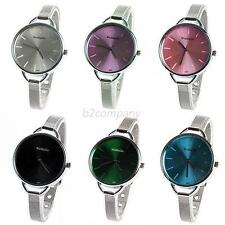 Fashion Girl's Women's Ladies Gift Analog Stainless Dress Quartz Wrist Watches