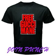 FREE GUCCI MANE T-Shirt (Longslave&Hoodie Available) New Music Rap Hip Hop Band
