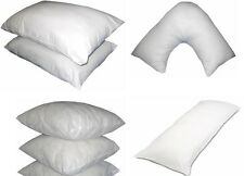 LUXURY BEDROOM PILLOWS LOUNGE ROOM SOFA CUSHION INSERT PADS INNERS HOLLOW FIBRE