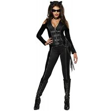 Sexy Cat Woman Costume Adult Womens Halloween Fancy Dress