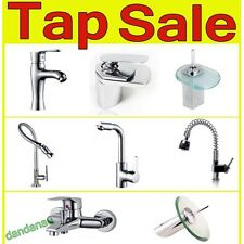 Modern Chrome Brass Kitchen Bathroom Bathtub Basin Sink Bath Shower Mixer Taps
