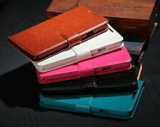 Fashion Deluxe Credit Card Waterproof Holder Stand Flip PU Leather Cover Case