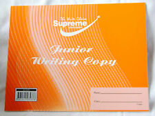 NEW JUNIOR WRITING COPY WIDE RULED EXERCISE BOOK HANDWRITING PRACTICE ORANGE
