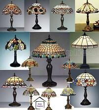 Christmas Gift - COLLECTION OF MEDIUM SIZE TIFFANY STYLE HANDCRAFTED TABLE LAMPS
