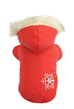 New Arrival Red Thick Cotton Pet Dogs Winter Coat Free Ship Clothing for dog