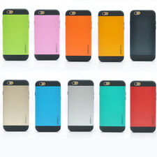"""Slim armor case 2 Piece Hybrid Shock Proof Case Cover for iPhone 6 4.7"""""""