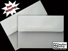 50 Boxed A7 A6 A2 A1 Pastel Gray Envelopes for Cards Invitation Announcement
