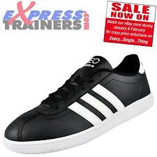 Adidas Mens Vlneo Court Casual Leisure Trainers Black * AUTHENTIC *