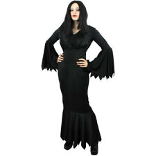 LADIES VAMPIRE COSTUME HALLOWEEN FANCY DRESS WITCH OUTFIT WOMENS UK SIZES 6-20
