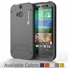GHOSTEK® BULLET SLIM FIT PREMIUM HARD CASE COVER FOR ALL NEW HTC ONE M8 2014