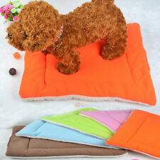 Cute Pet Dog Puppy Air Conditioning Pad Pet dog bed Colorful Pet Dog House S M L