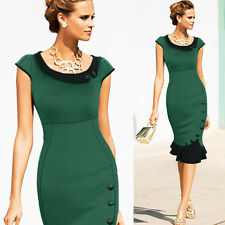 Sexy Ladies Slim-fit Mermaid Dress Formal Cocktail Evening Party Bodycon Dress