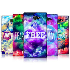 HEAD CASE CHROMATIC CLOUDS PROTECTIVE COVER FOR SONY XPERIA M2