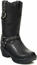 DURANGO DREAM Women's Black Harness Western Leather RD3860 Cowgirl Boots