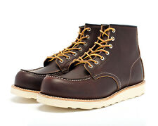 "RED WING 8138 HERITAGE 6"" MOC TOE MEN BOOT"