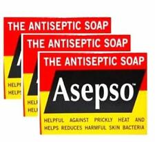 Asepso with Antibacterial Antiseptic Agent Healthy Skin Body Soap Bar