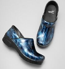 Dansko Blue Ripple Patent Leather   MANY SIZES TO SELECT FROM
