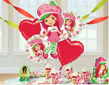 STRAWBERRY SHORTCAKE BIRTHDAY PARTY BALLOONS BOUQUET SUPPLIES DECORATIONS NUMBER