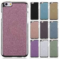 Silver Fram Bling Glitter Shinning Hard TPU Case Cover fr Apple iPhone 6 6S 4.7""