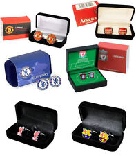 Premier League Football: Cufflink Set In Box - Man Utd Liverpool Arsenal Chelsea