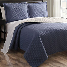 New 3 Piece Bedding Quilt Set Assorted Patterns and Sizes