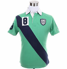 Tommy Hilfiger Men Short Sleeve Logo Classic Fit Rugby Polo Shirt - Free Ship