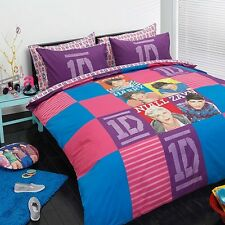 Design 19 ONE DIRECTION 1D Quilt Doona Cover Set - SINGLE DOUBLE QUEEN