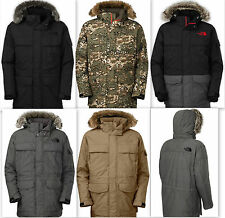 New Men's The North Face Mcmurdo Parka Jacket 550 Fill Goose Down HyVent 2L 2014