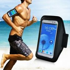 Running Gym Sports Armband Case Holder Pouch For Samsung Note 2 3 N7100 N9000