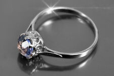 vr366 Russian gold Alexandrite Sapphire Ruby ring - perfect silver replica CHEAP
