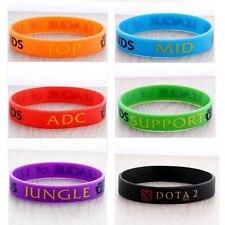 League of Legends LOL Theme Silicone Wristbands Bracelets Hand Catenary Fashion