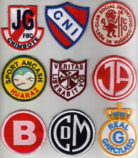 Football Peruvian Sport Club Logo Multi Color Embroidered Patch Real Garcilaso