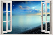 Wall Sunset Sticker Decal Art Window Graphic Mural View Beach 3d Quote Vinyl