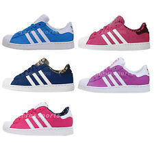 Adidas Originals Superstar 2 J Junior Youth Kids Classic Casual Shoes Pick 1