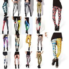 1pc Hot Sexy Pattern Print Women Tights Stretch Skinny Pencil Pants New Trouses