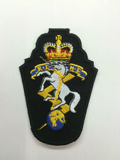 Biker patch regimental embroidered small new