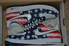 NIKE AIR FORCE 1 INDEPENDENCE DAY 488298 425 MIDNIGHT NAVY/WHITE-UNIVERSITY RED