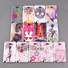 New Hot Patterns Case Cover Back Protect f. Samsung Galaxy Note I9220 N7000