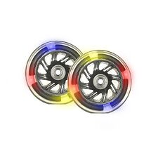 Pu 120mm Light Up Wheels Replacement Wheels for Scooter 3 LED - 2 Piece