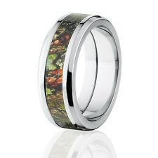 Stylish Obsession Mossy Oak Camo Rings, Mossy Oak Camouflage Rings