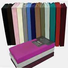 PERCALE FITTED SHEETS AVAILABLE SINGLE,DOUBLE,KING AND PILLOWCASE