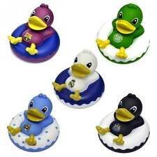 Football Team Official Dinghy Bath Time Ducks - Rubber Duck Toy Boxed XMAS GIFT