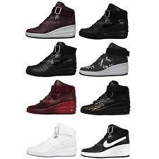 Nike Wmns Lunar Force 1 Sky Hi Prm 2014 Womens NSW Wedge Casual Shoes Pick 1
