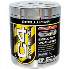 Cellucor C4 EXTREME Pre Workout w/N03 - 30 SERVINGS - ALL FLAVORS